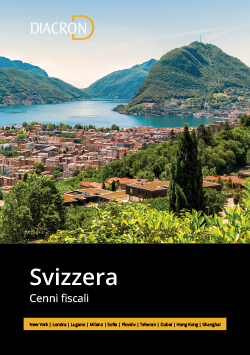 Cenni Fiscali Svizzera