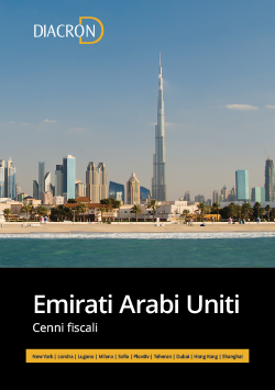 Cenni Fiscali Emirati Arabi Uniti