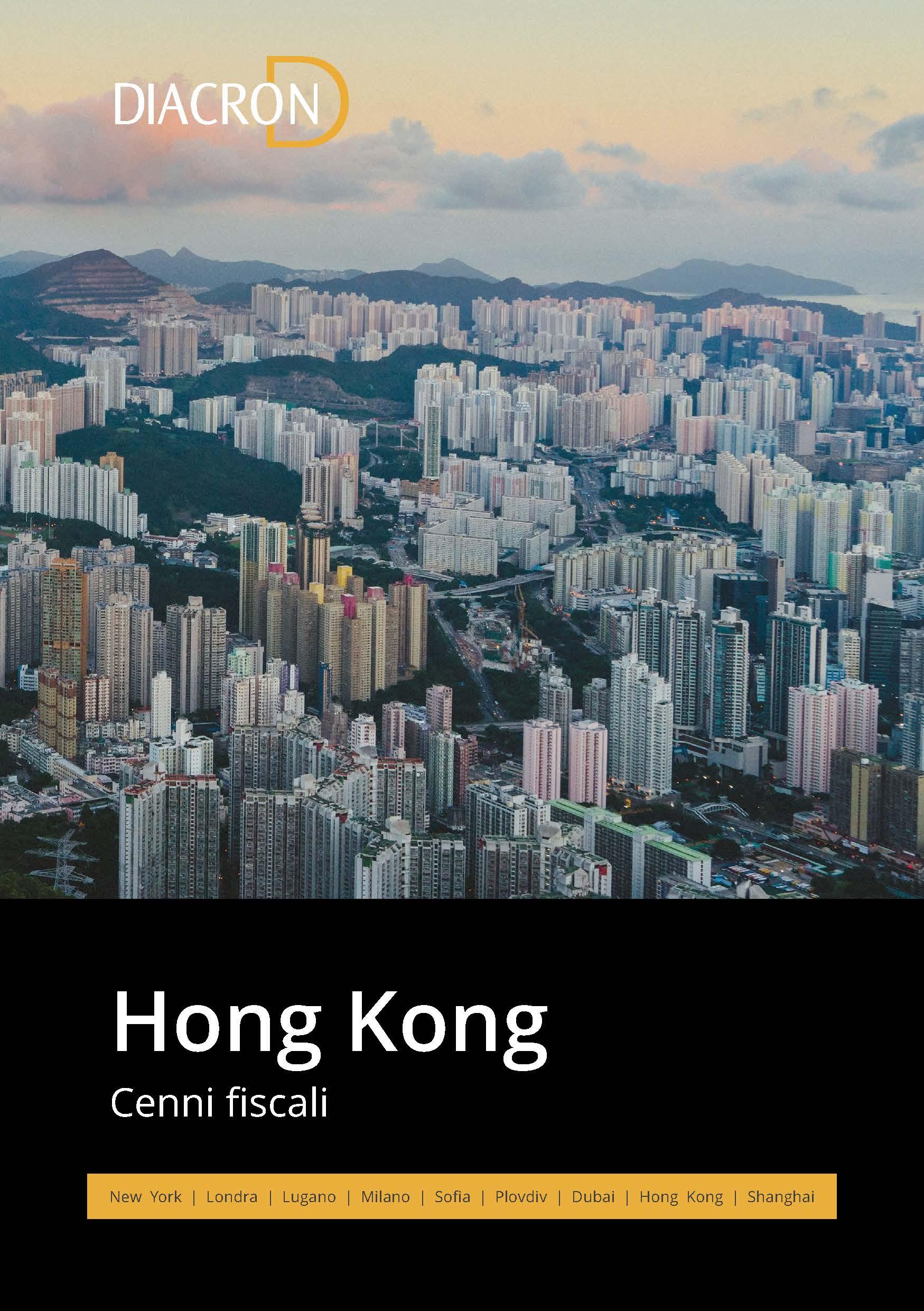 Cenni Fiscali Hong Kong