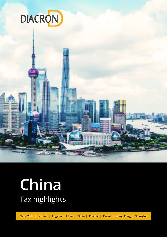 Tax highlights – China