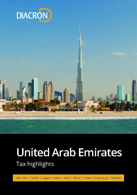 Tax highlights – United Arab Emirates