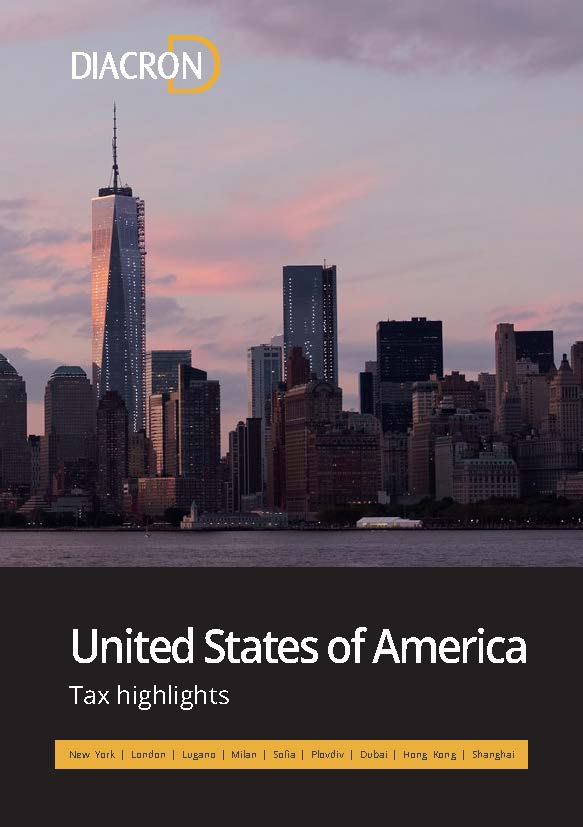Tax highlights – United States of America