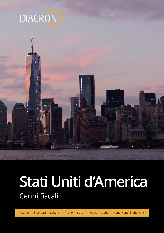 Cenni Fiscali Stati Uniti
