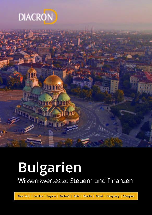 Wissenswertes zu Steuern und Finanzen – Bulgarien