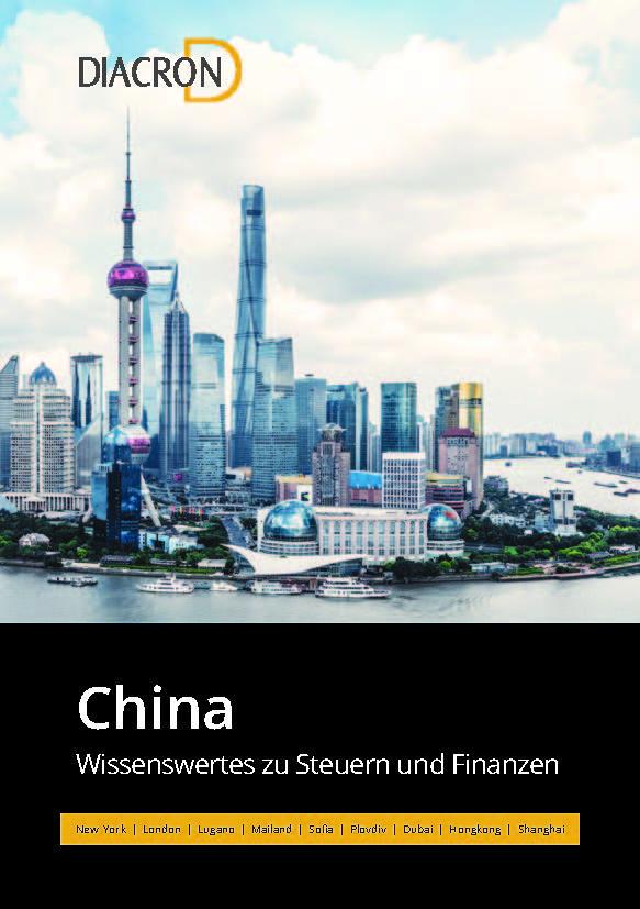 Wissenswertes zu Steuern und Finanzen – China
