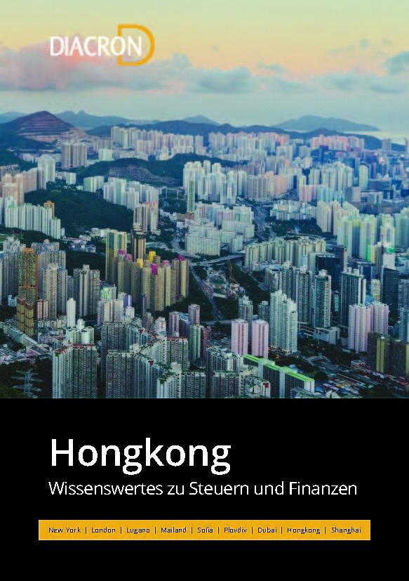 Wissenswertes zu Steuern und Finanzen – Hongkong