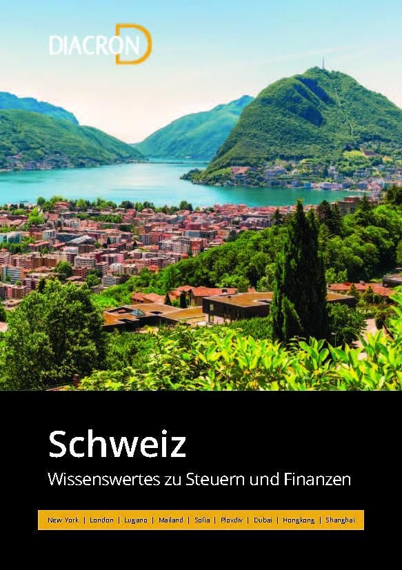 Wissenswertes zu Steuern und Finanzen – Schweiz