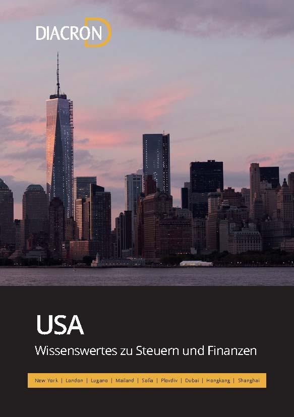 Wissenswertes zu Steuern und Finanzen – USA