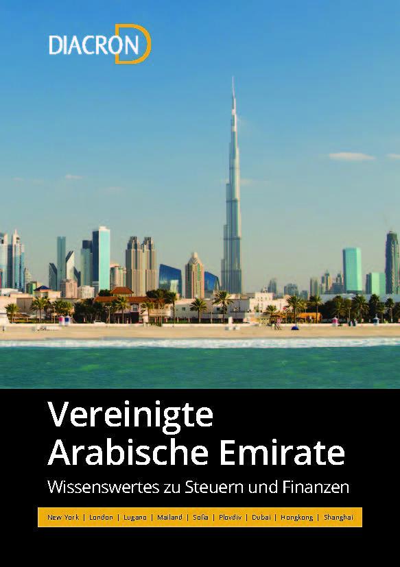 Wissenswertes zu Steuern und Finanzen – Vereinigte Arabische Emirate