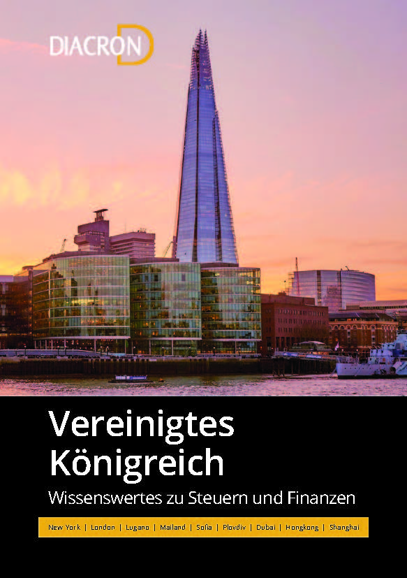 Wissenswertes zu Steuern und Finanzen – Vereinigtes Königreich